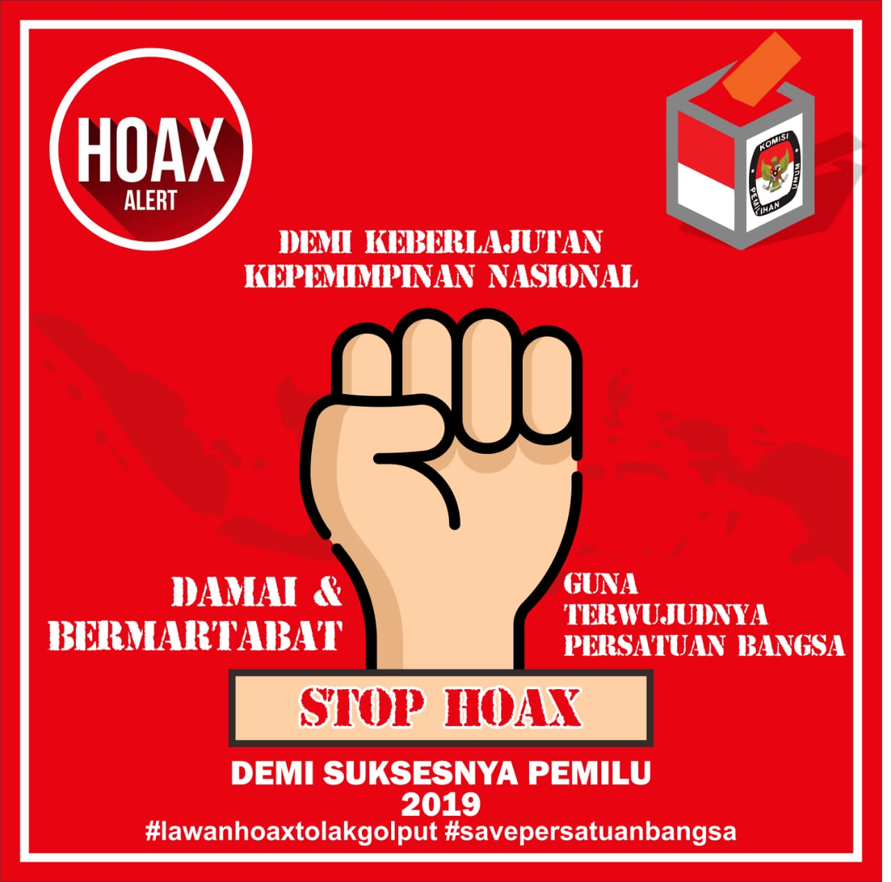 Make a Succeed on the Sustainability of National Development Through 2019  Elections Without Hoax | CIDISS