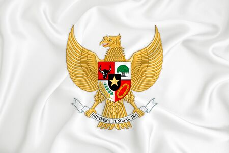 147119541-a-developing-white-flag-with-the-coat-of-arms-of-indonesia-garuda-pancasila-country-symbol-illustrat